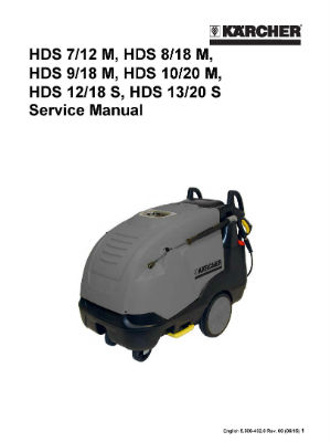 Karcher Marine PROFESSIONAL High-pressure cleaners Hot water high